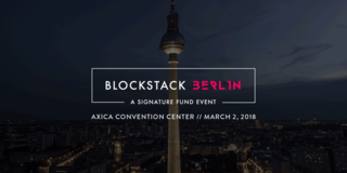 "<h4>BLOCKSTACK BERLIN CONFERENCE</h4> featuring Edward Snowden & Nick Szabo, March 2nd<br> <a href=""https://www.eventbrite.com/e/blockstack-berlin-a-signature-fund-event-tickets-39425916979?aff=blockstackorg"" >→ get your ticket here</a>"